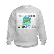 The Lungfish Whisperer Kids Sweatshirt