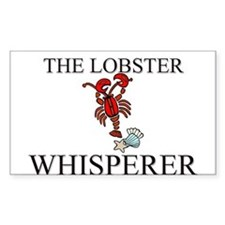 The Lobster Whisperer Rectangle Decal