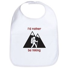 I'd Rather Be Hiking Bib