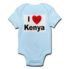 I Love Kenya Infant Creeper