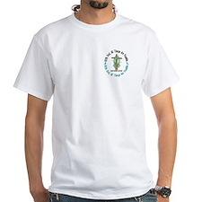 With God Cross OVARIAN CANCER Shirt