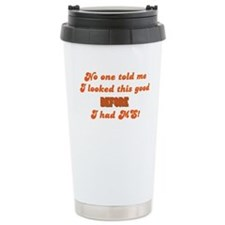 Looking Good! Ceramic Travel Mug