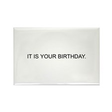 IT IS YOUR BIRTHDAY. Rectangle Magnet (100 pack)