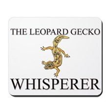 The Leopard Gecko Whisperer Mousepad