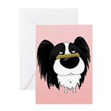Papillon Valentine's Day Greeting Card