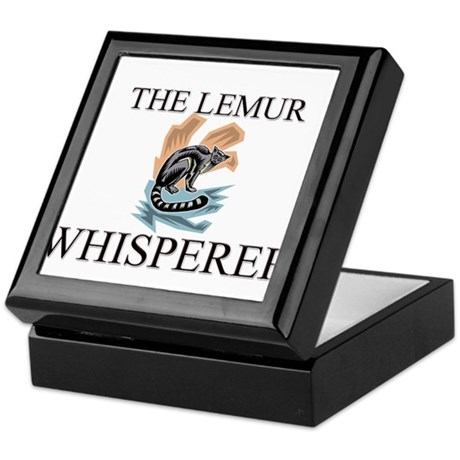 The Lemur Whisperer Keepsake Box