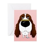 Springer Valentine's Day Greeting Card