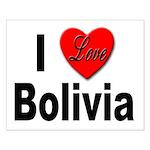 I Love Bolivia Small Poster