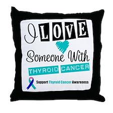 ThyroidCancerSupport Throw Pillow
