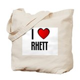 I LOVE RHETT Tote Bag