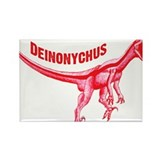 Deinonychus Rectangle Magnet (10 pack)