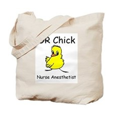 OR Chick CRNA Tote Bag