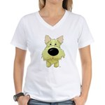 Big Nose/Butt Cairn Women's V-Neck T-Shirt