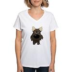 Big Nose/Butt Cairn Women's V-Neck T-Shirt