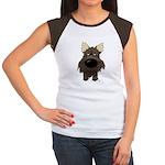 Big Nose/Butt Cairn Women's Cap Sleeve T-Shirt