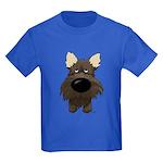 Big Nose Cairn Kids Dark T-Shirt