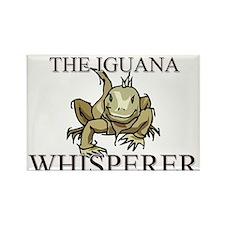 The Iguana Whisperer Rectangle Magnet