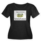 The Hyena Whisperer Women's Plus Size Scoop Neck D
