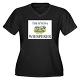The Hyena Whisperer Women's Plus Size V-Neck Dark