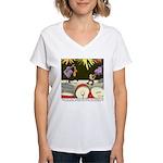 Good Investment Women's V-Neck T-Shirt