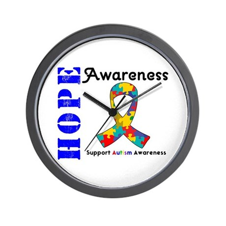 AutismHope Awareness Wall Clock