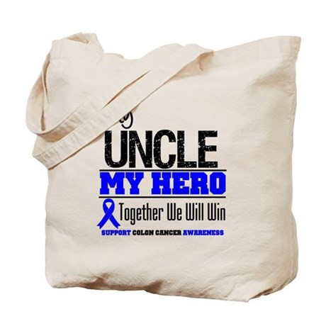 ColonCancerHero Uncle Tote Bag