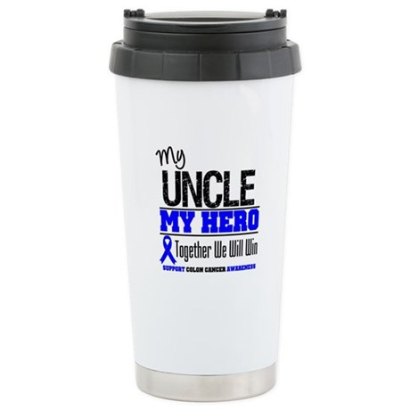 ColonCancerHero Uncle Ceramic Travel Mug