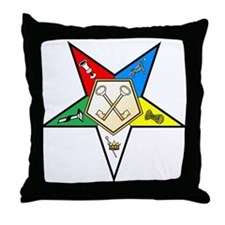OES Treasurer Throw Pillow