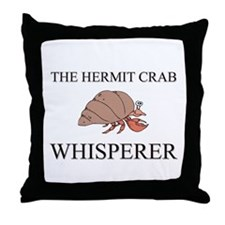The Hermit Crab Whisperer Throw Pillow