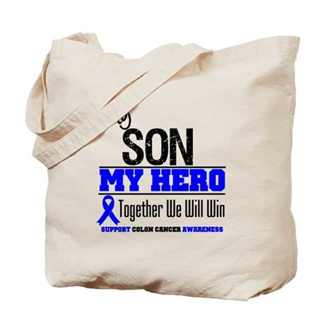 ColonCancerHero Son Tote Bag