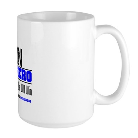 ColonCancerHero Son Large Mug