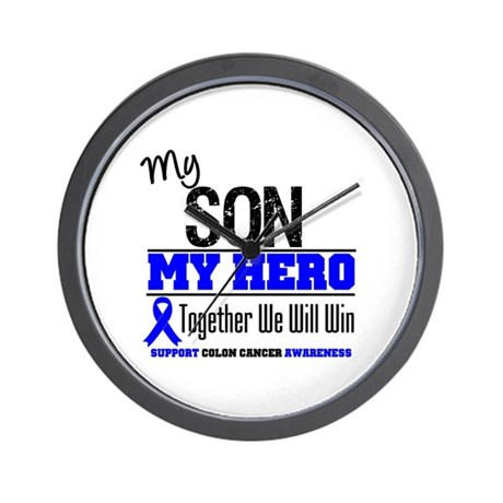ColonCancerHero Son Wall Clock