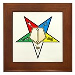 OES Associate Conductress Framed Tile