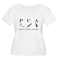 PCA - pipes, cigars, alcohol T-Shirt