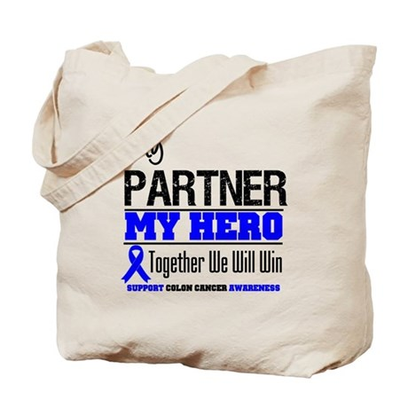 ColonCancerHero Partner Tote Bag