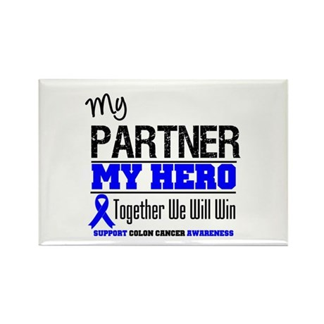 ColonCancerHero Partner Rectangle Magnet