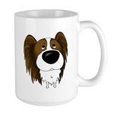 Big Nose/Butt Papillon Coffee Mug