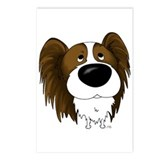Big Nose Papillon Postcards (Package of 8)