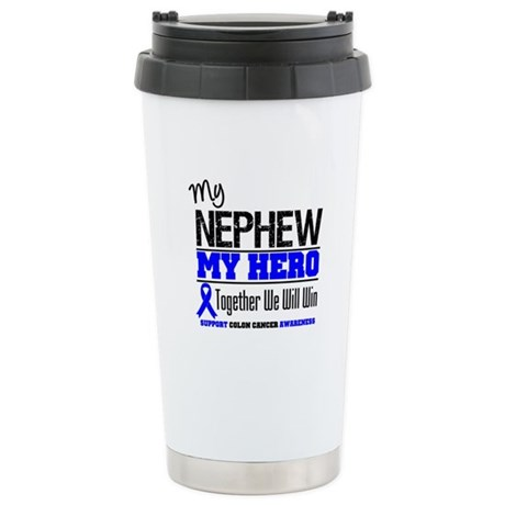 ColonCancerHero Nephew Ceramic Travel Mug
