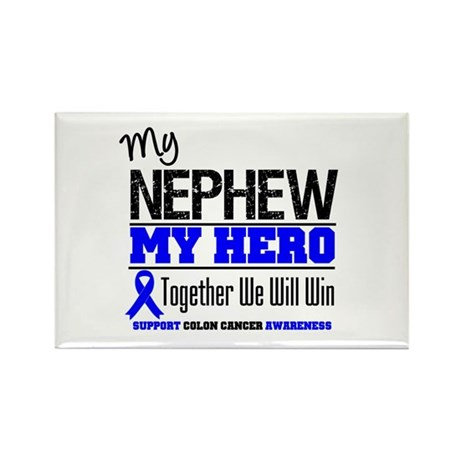 ColonCancerHero Nephew Rectangle Magnet