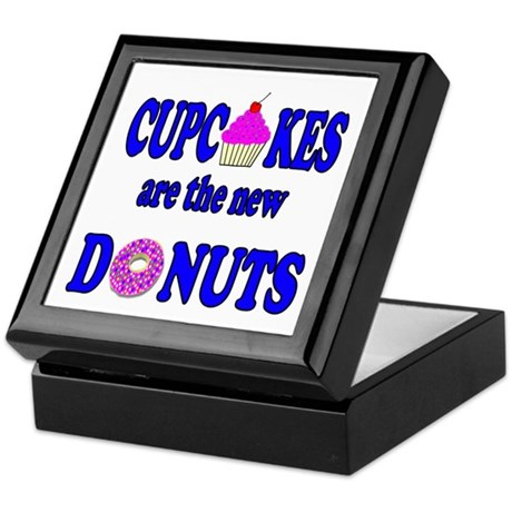 Cupcakes are the new Donuts Keepsake Box