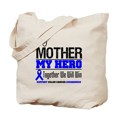ColonCancerHero Mother Tote Bag