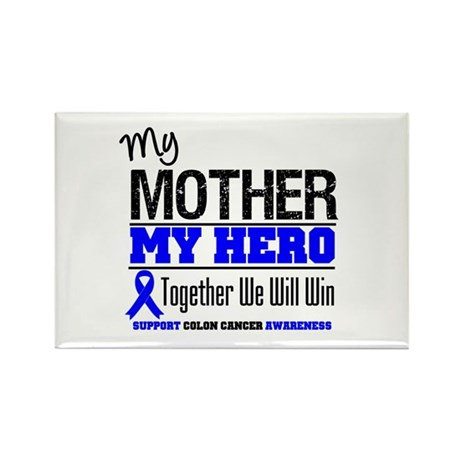 ColonCancerHero Mother Rectangle Magnet