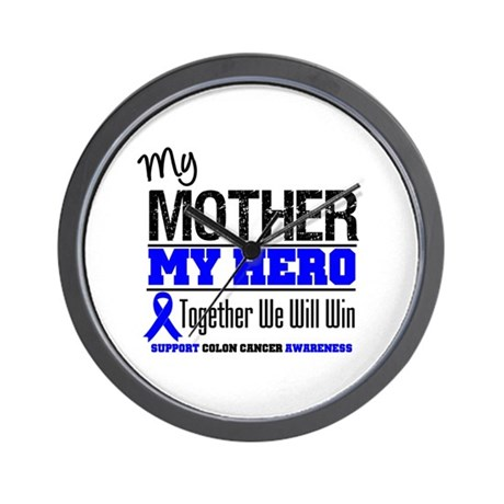 ColonCancerHero Mother Wall Clock