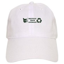 Recycle your animals Baseball Cap