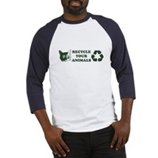 Recycle your animals Baseball Jersey
