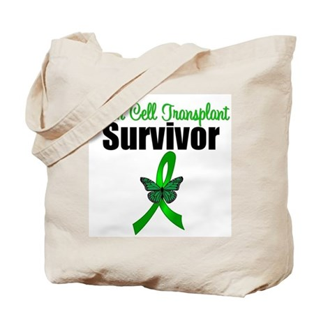 SCT Survivor Ribbon Tote Bag