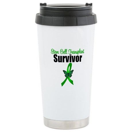 SCT Survivor Ribbon Ceramic Travel Mug