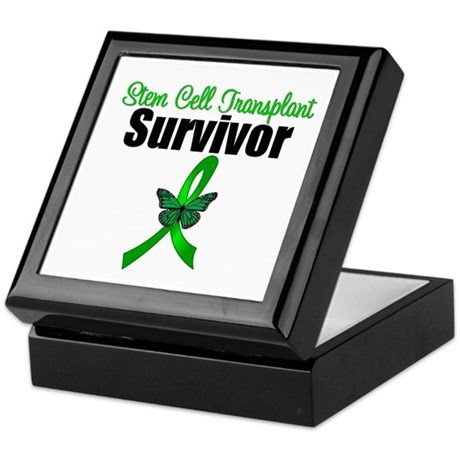 SCT Survivor Ribbon Keepsake Box