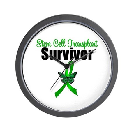 SCT Survivor Ribbon Wall Clock